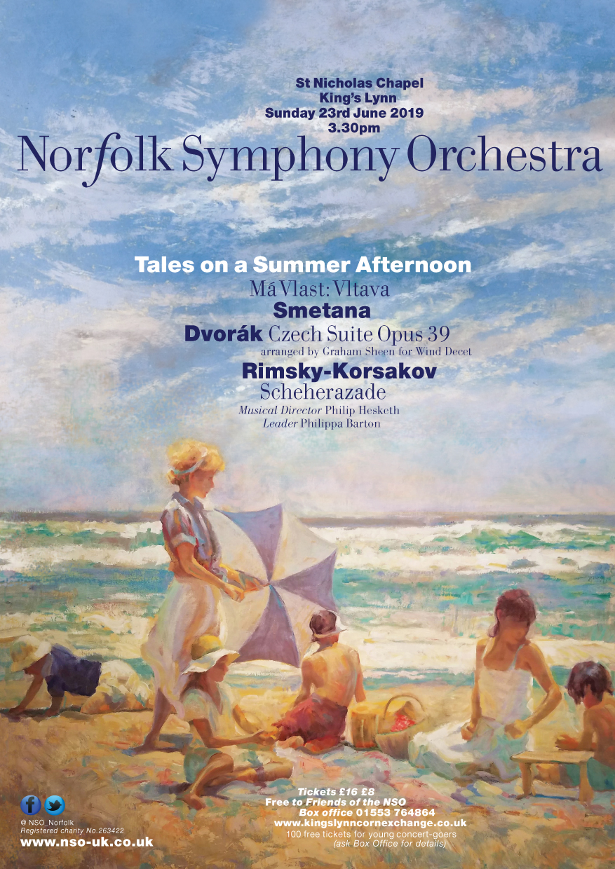 NSO Concert  | Norfolk Symphony Orchestra presents 'Tales on a Summer afternoon' - Dalegate Market | Shopping & Café, Burnham Deepdale, North Norfolk Coast, England, UK